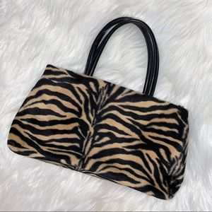 🍄3 for$25 Textured Tiger Striped Boho Purse